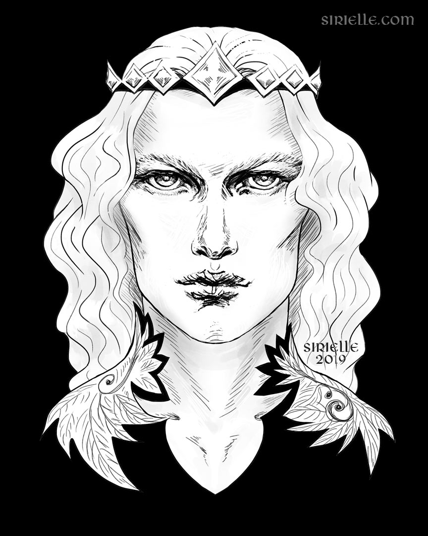 Finarfin in black (The Silmarillion)