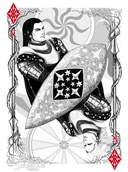 Gil-galad as King of Diamonds (The Silmarillion)
