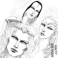 Finarfin, Idril and Anairë (The Silmarillion)